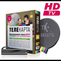 Установка спутникового телевидения Телекарта